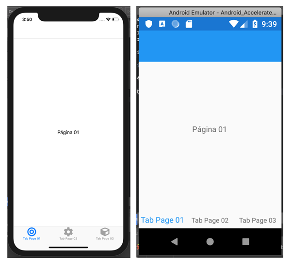 Xamarin Forms - Tabbed Page Bottom