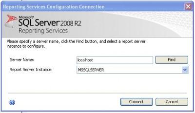 Reporting Services Configuracion - SQL Server 2008